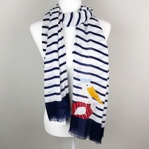 Kate Spade | NWT Pelican Percy Striped Scarf